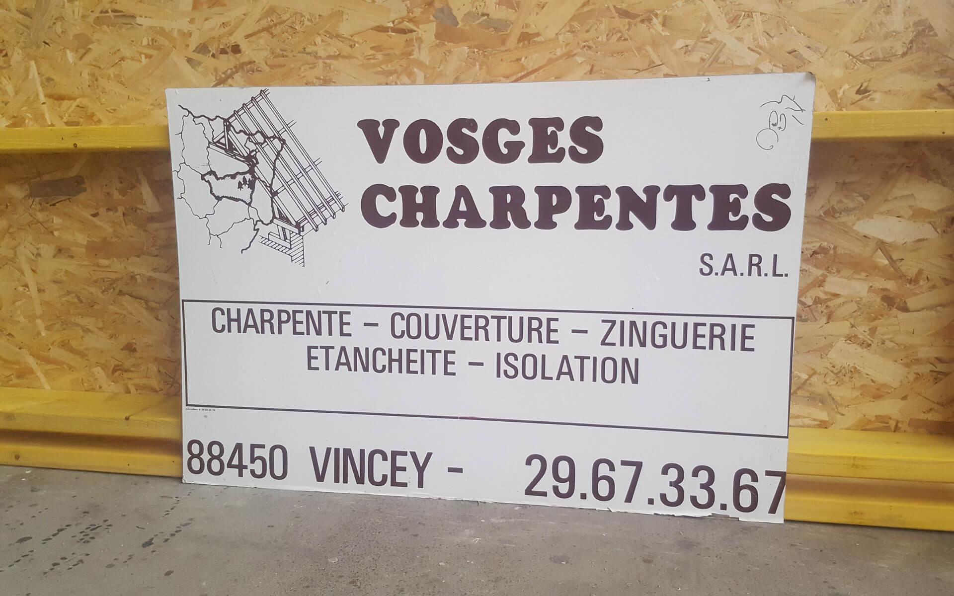 Vosges Charpentes Démarche RSE